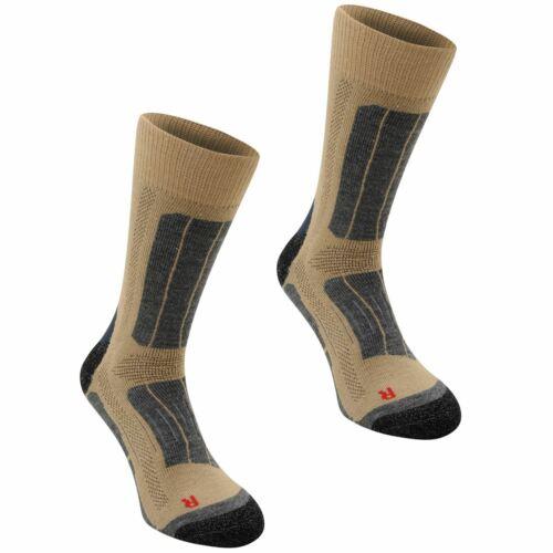 Karrimor Mens Trekking Socks Two Pack Boot Mesh Warm Arch Support
