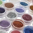 24 Color Nail Art Glitter Powder Dust For UV GEL Acrylic DIY Decoration Tips