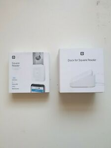 Square Card Reader And Charging Dock