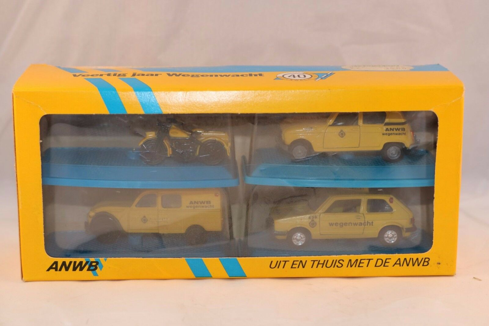Artec Special made for 40 jaar wegenwacht  ANWB  1:66 perfect mint in box