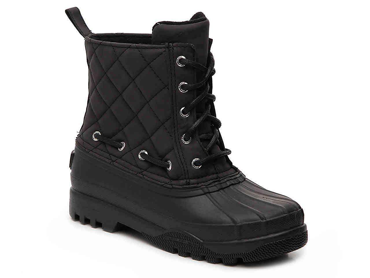Women's Paul Sperry Quilted Duck BOOTS