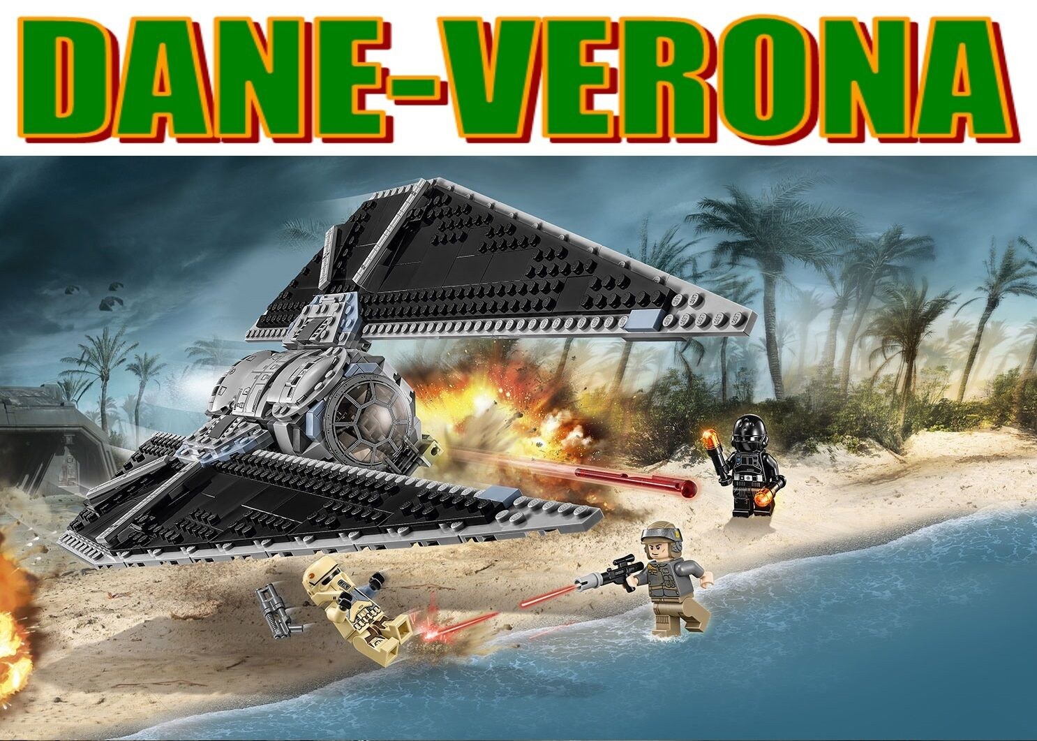 Lego -  TIE STRIKER™ (75154) estrella guerras  goditi il 50% di sconto
