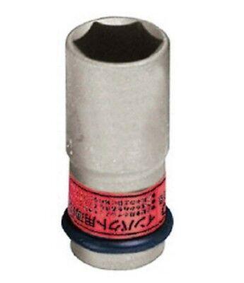 1//2 INCH LONG WHEEL NUT IMPACT SOCKET 21mm 4A-21LN MADE IN JAPAN TONE