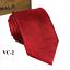 Classic-Red-Black-Blue-Mens-Tie-Paisley-Stripe-Silk-Necktie-Set-Wedding-Jacquard thumbnail 13