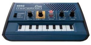 Korg-Monotron-Duo-Dual-Oscillator-Analog-Pocket-Synthesizer-shipping-Worldwide