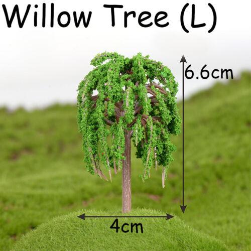 Mini Miniatures Tree Figurine Micro Landscape Fairy Garden Decoration