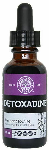 Global Healing Center Detoxadine Nascent Iodine Supplement - 1oz
