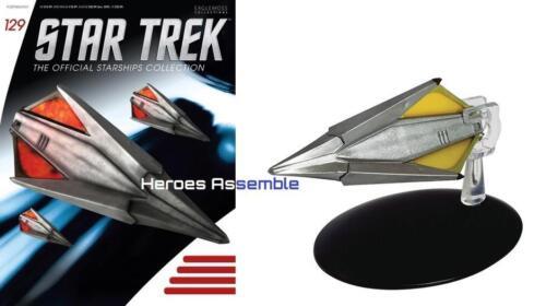 Star Trek Starships Collection #129 Tholien navire Remastered Eaglemoss Neuf 128