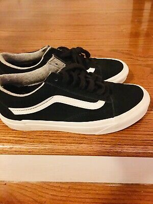 Vans Ward Skate Shoes Women's 7.5 Black