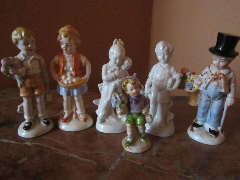 Ældre figurer, porcelæn, fejlfri