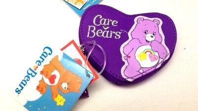 Care Bears Portamonete Viola A Cuore 11x9cm - Cartorama- Nuovo Lustro Incantevole