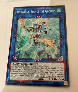 Bow of the Goddess Common Yugioh Card Proxy Fake *For Fun Use Only Apollousa