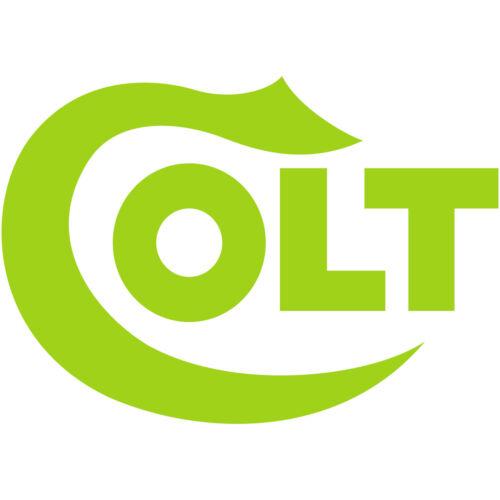 "Colt Logo 5/"" Vinyl Decal Sticker CMC firearm pistols rifles guns m4 ar15 1911"