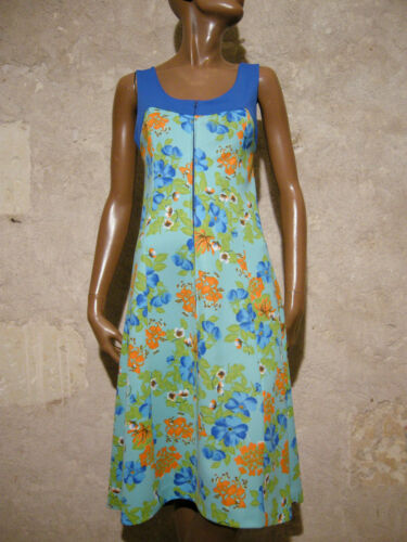 Annees Vintage Robes Dress 70 Vtg Chic Ann 7q4EPqUpxw