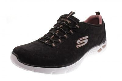 Skechers Damen HalbschuhSneaker Empire D`lux Spotted black j5PDc