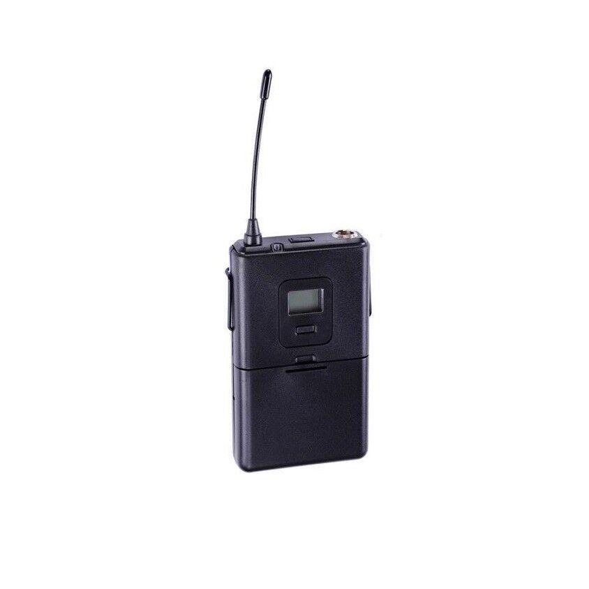 Instrumento de micrófono de 4 canales canales canales de Micrófono Auricular Inalámbrico Uhf Profesional 4 818e98