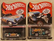 2-Hot Wheels Kmart 2016 Mail In Blown Delivery/'55 Corvette Real Riders Redline