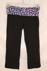 Victoria-039-s-Secret-PINK-Yoga-Pants-Capri-Love-Pink-size-small