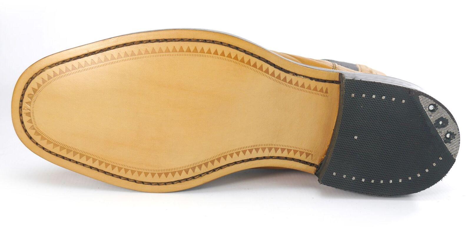 Charles Horrel Horrel Horrel Made in England alato CALATA CHELSEA suola in pelle Mustang Tan f053b6