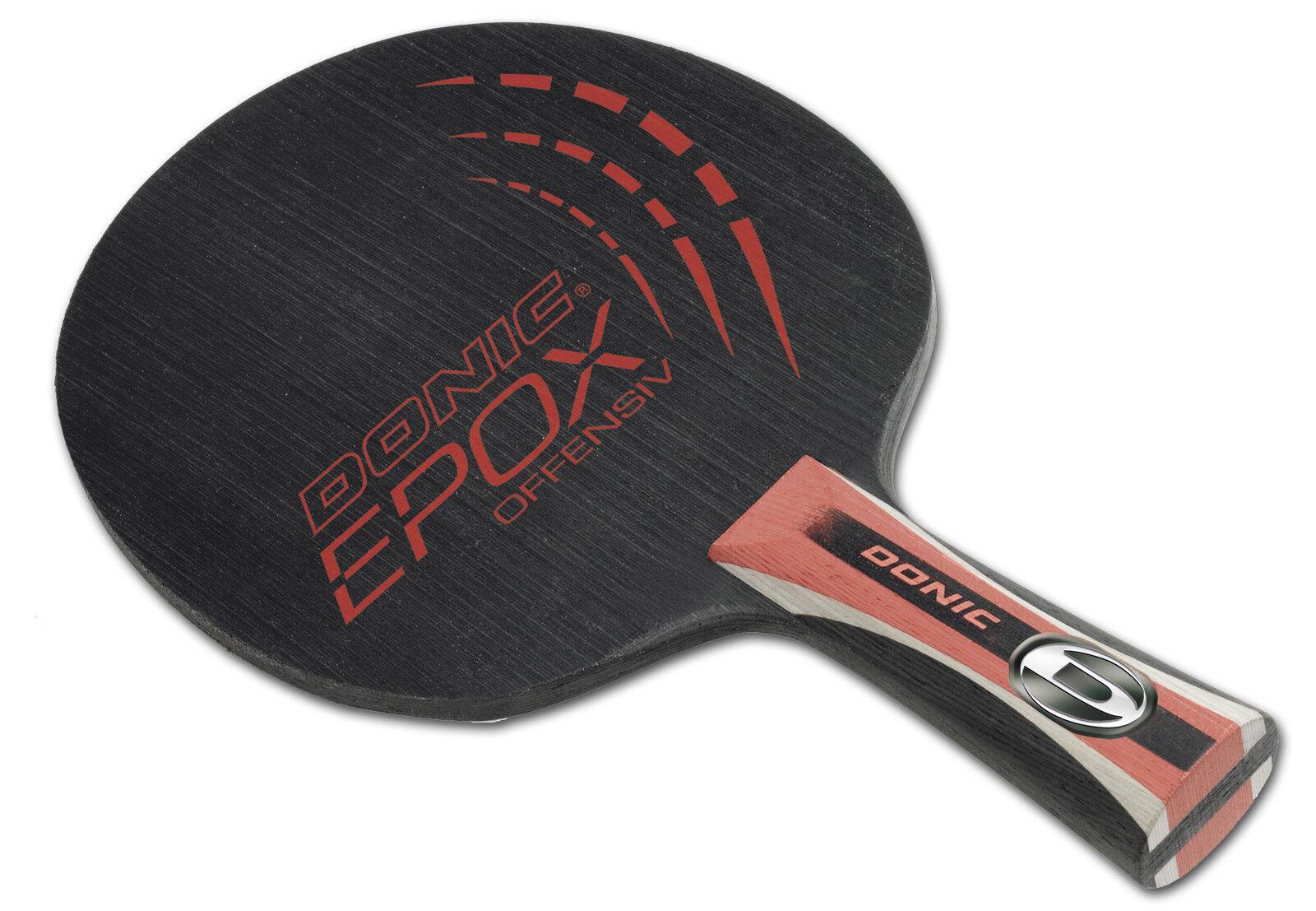 Donic Epox Offensive Tennis de Table-Bois Raquette de Tennis de Table