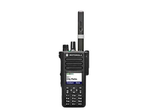 Motorola dp4801e DMR, UHF 403-527mhz, ni-mh batería, GPS incl. kundensp. Program.