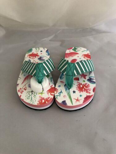 Girls Hatley Flip Flops Size 11