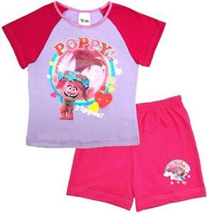 Trolls Short Summer Pyjama Set. Age 5-6 Years. Brand New. Free Postage