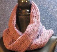 J.mclaughlin Women's Purple Wool Blend Twist Scarf