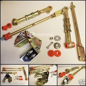 Classic-Mini-Ultimate-Adjustable-Camber-Kit-INCLUDING-Polyflex-UK-Bushes-race