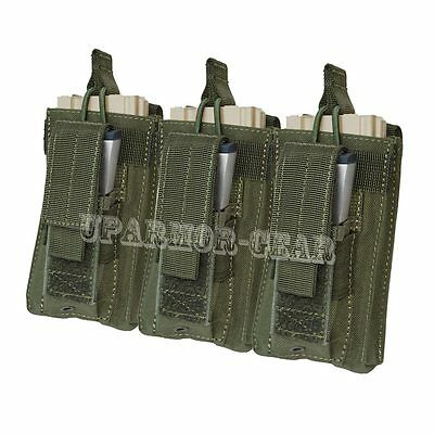 MOLLE 5.56 mm open top + Pistol Triple Kangaroo Mag Pouch OD (CONDOR MA55)