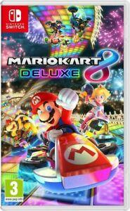 Videogioco Mario Kart 8 Deluxe Nuovo Originale Italiano per Nintendo Switch