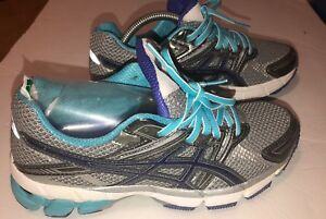 Details about EUC Asics GT 1000 Gray Gel Duomax Running Shoes T2L6N Women's Size 6.5