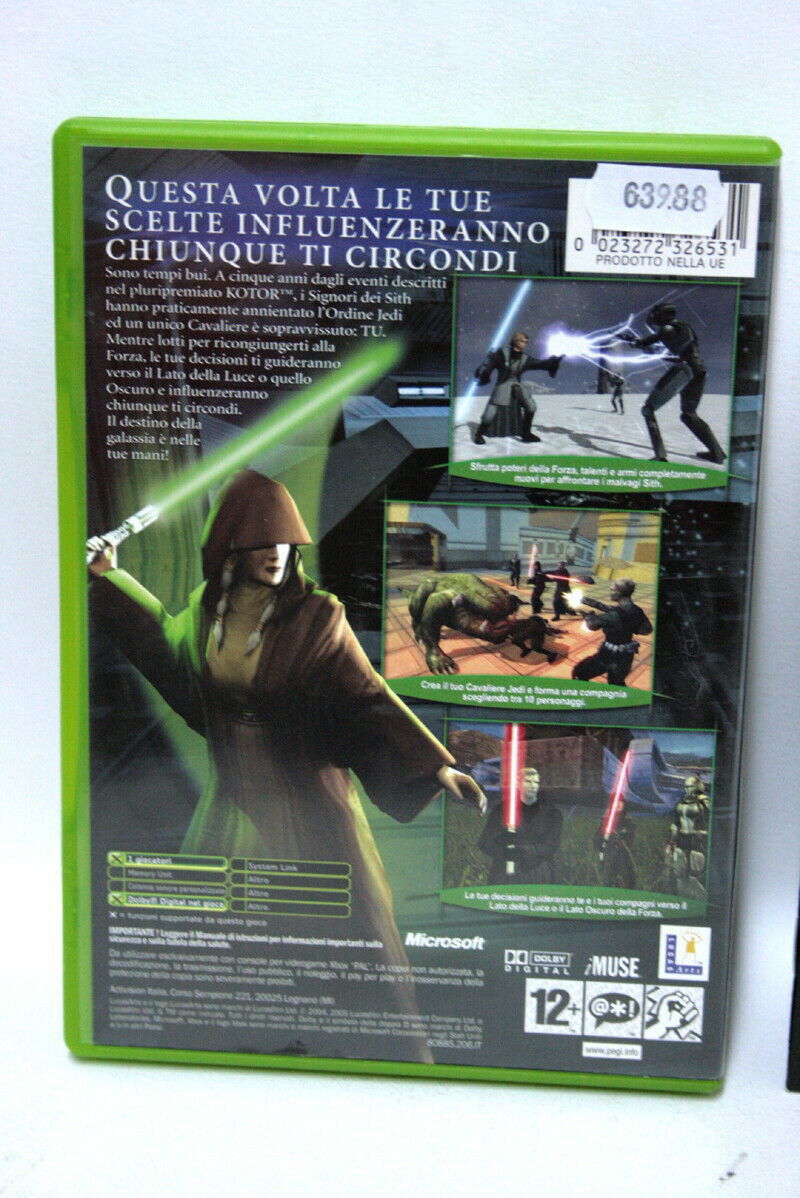 STAR WARS KNIGHTS OF THE OLD REPUBLIC II THE - Avis StarWars