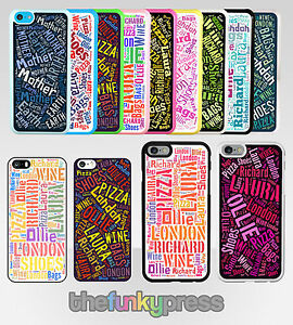 personnalise-texte-wordart-RIGIDE-PLASTIQUE-etui-apple-iphone-5-5S-5C-6-6S