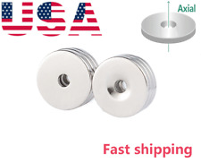 Disc20mm Countersunk 45mm Disc Round Magnets For Science Crafts Project Board