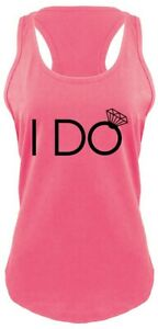 870b8c780 I Do Ladies Tank Top Bride Bachelorette Party Bridal Gift Wedding ...