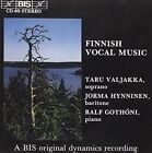 Finnish Vocal Music Various Composers Audio CD