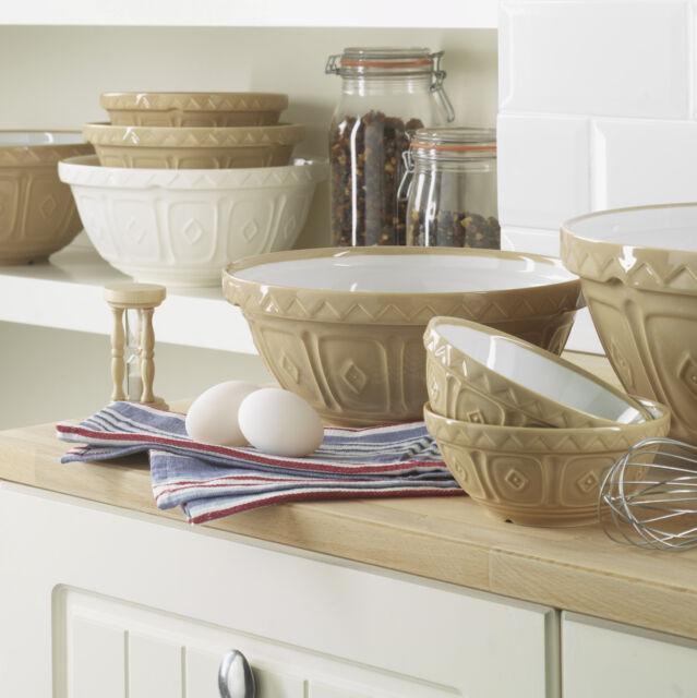Mason Cash Cane Mixing Bowl - Fine Stoneware in 5 Sizes - Seen on Bake Off