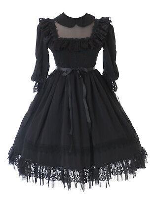 Gothic Vampire Victorian lolita /Ärmel L/änge 30 cm