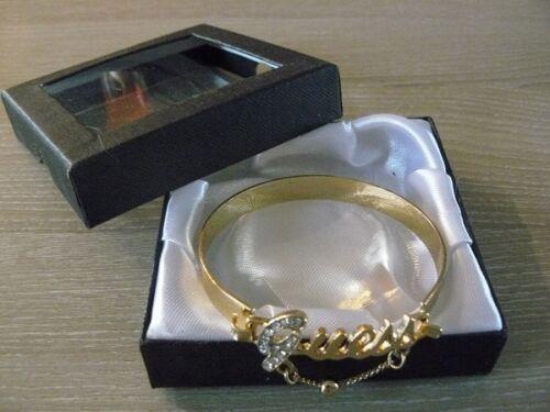 Bracelet fantaisie rigide écrin