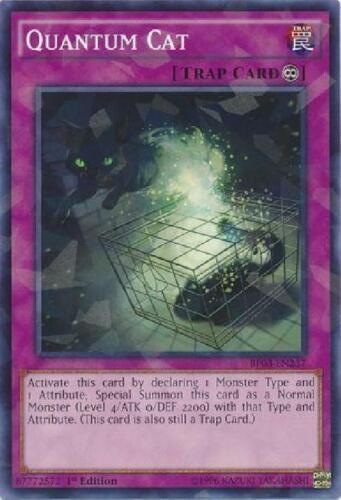 BP03-EN237 Shatterfoil Rare 1st Edition NM Battle Pack 3 Quantum Cat