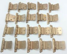 20 Vintage Copper Finish 1950's Kitchen Cabinet Hinges