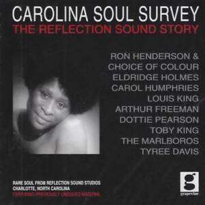 CAROLINA-SOUL-SURVEY-Various-Artists-NEW-SEALED-NORTHERN-SOUL-CD-GRAPEVINE-R-amp-B