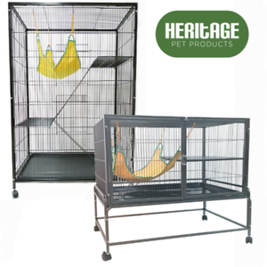 Heritage-Chinchilla-Ferret-Cage-Pet-Enclosure-Degu-Home-House-Rat-Cages-Hutch