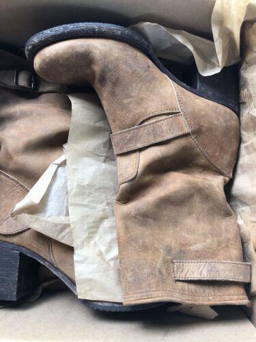 Freebird by Steven Boulder biker  boot  TAN  size 10 $349 NIB