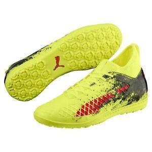 Puma Future 18.3 TT Turf 2018 Soccer Shoes Brand New Yellow   Red ... 04d51ccdb