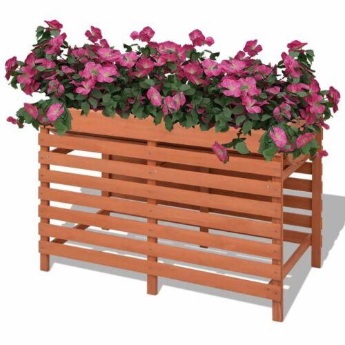 vidaXL Hochbeet Blumen Pflanzkasten Tischbeet Kräuter Gemüsebeet Holz 100x50x71