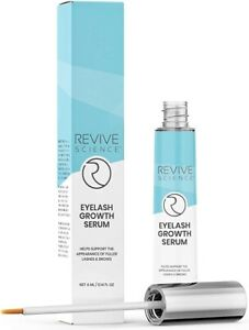 Revive Science Eyelash Growth Serum Eyebrow Enhancer Biotin, Vitamin E, Collagen