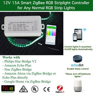 Philips Hue Compatible Zigbee 3 0 Rgbw Strip Light Controller For Normal Strips Ebay