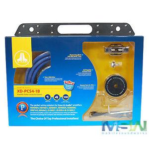 *new* jl audio® xd-pcs4-1b 4 awg gauge single car ... jl audio e1200 wiring diagram jl audio amp wiring kit #7